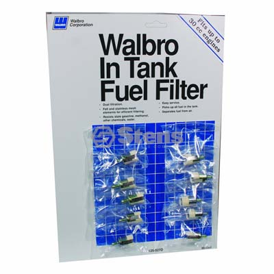 Fuel Filter Display Walbro 125-527D / 610-125