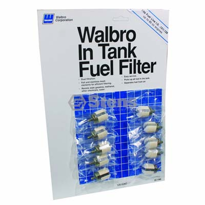 Fuel Filter Display Walbro 125-528D / 610-129