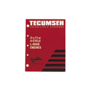 Tecumseh OEM 3-11 HP 4-Cycle L-Head Engine Manual / 692509