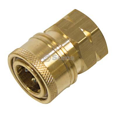 """Quick Coupler Socket 3/8"""" Female Brass / 758-930"""