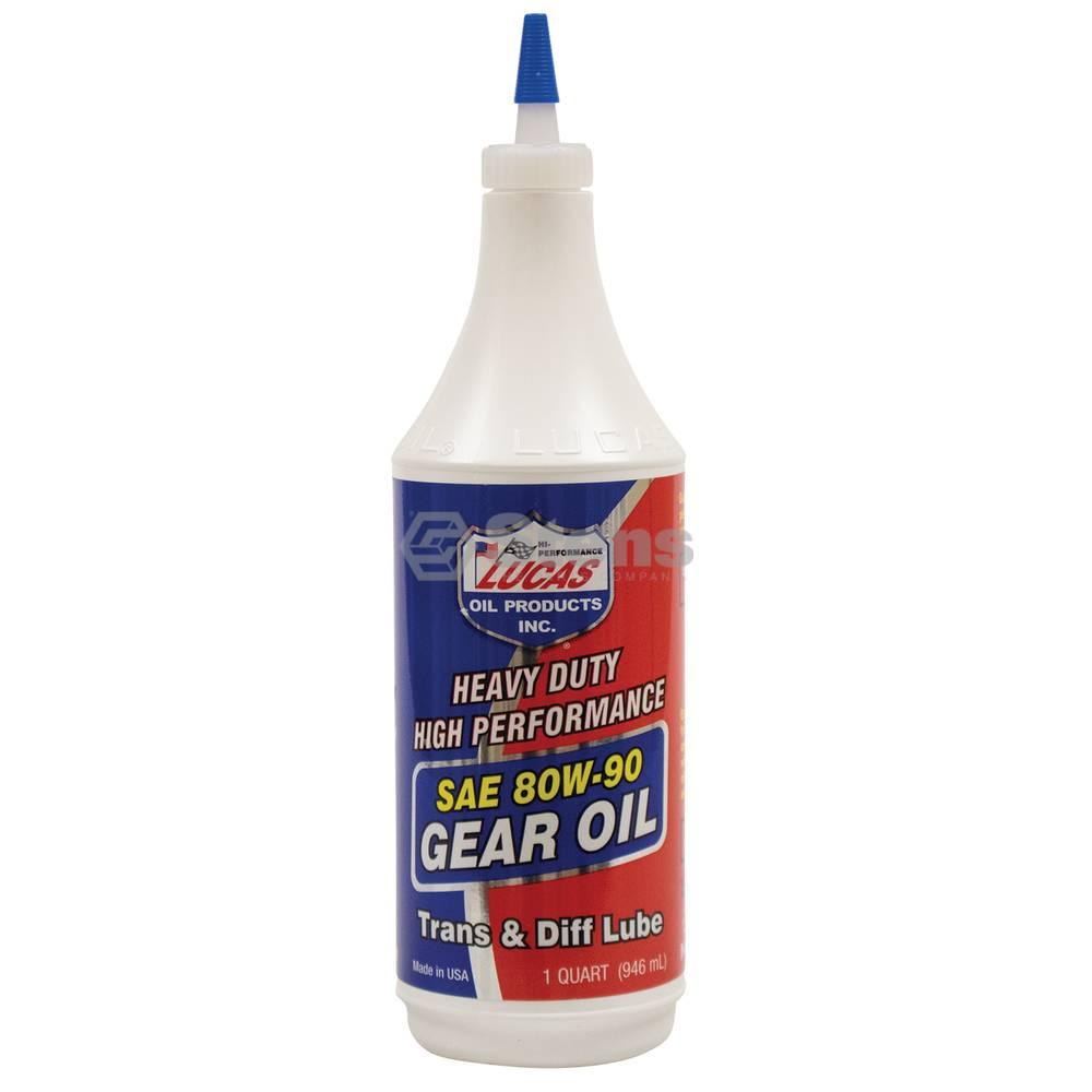 Lucas Gear Oil 80W-90, 32 oz. Bottle / 051-503