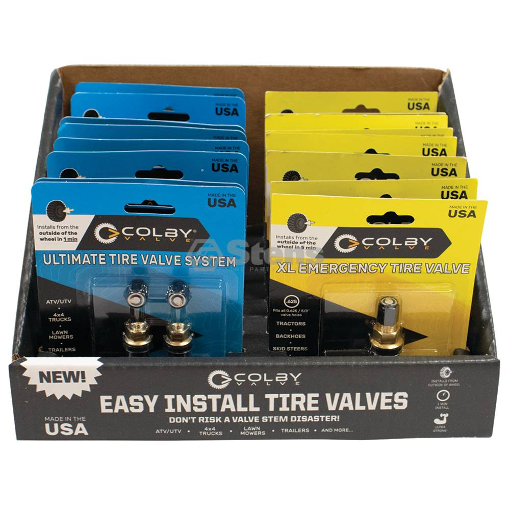 Ultimate & 8 XL Valve Repair Display Pack / 175-906