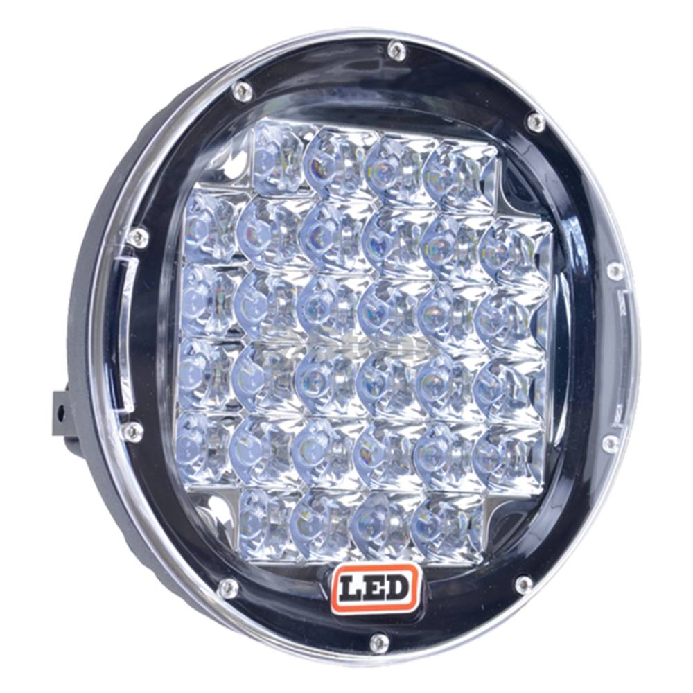 "Driving Light 12-24 Volt, 9"" Round 32 LED, Driving Light / 3000-2131"