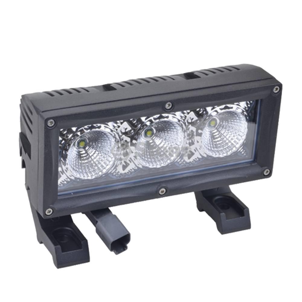 """Light Bar 12-24 Volt, 7"""" Wide, 3 LED, Flood / 3000-2138"""