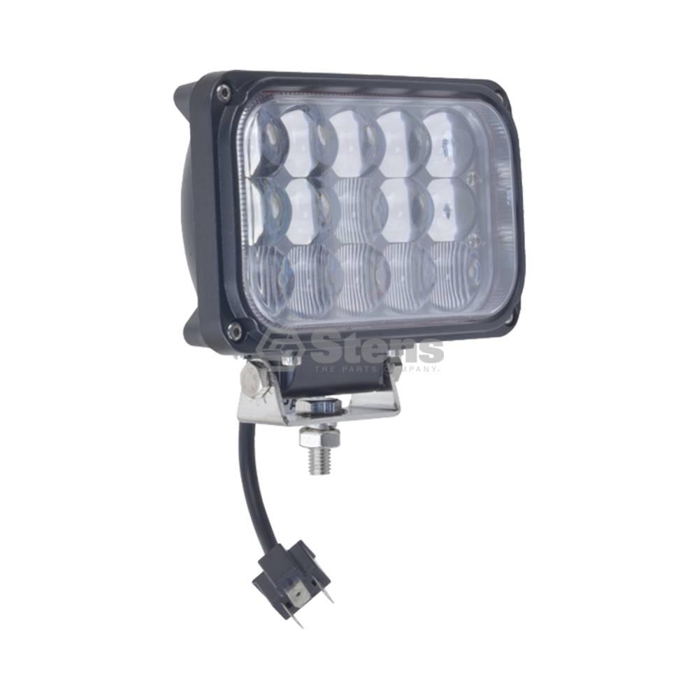 "Head Light 12-24 Volt, 7-1/2"" Square, 15 LED, Beam Driving Light / 3000-2145"