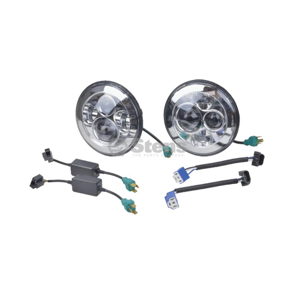 "Head Light Kit 12-24 Volt, 7"" Round Head Light kit, LED / 3000-2154"