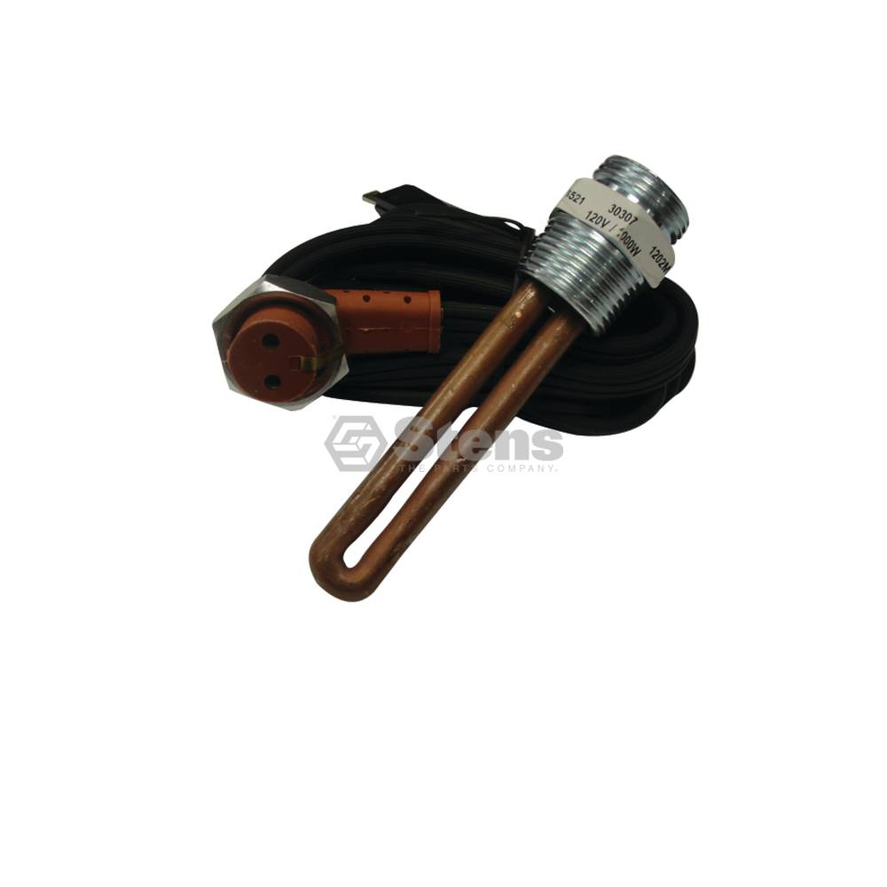 "Engine Heater 120 Volt 1000 Watts 3/4"" TH 3-1/4"" L / 3009-1080"