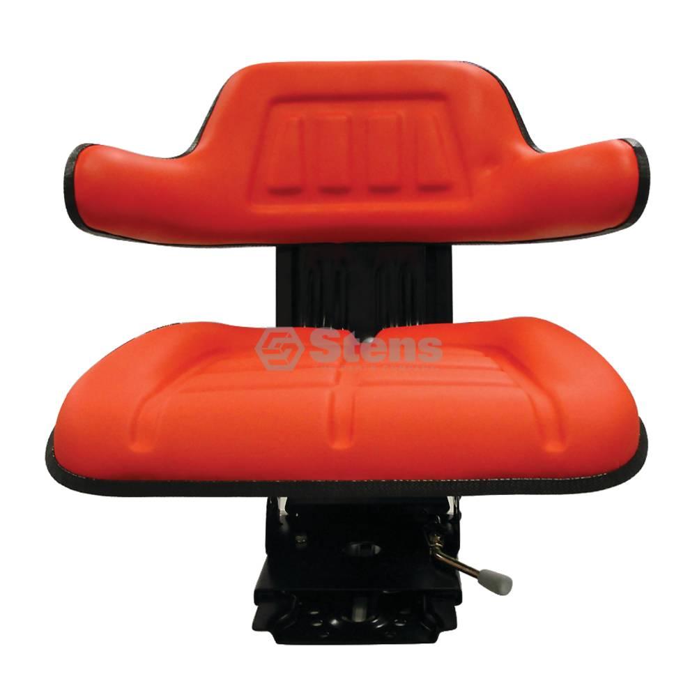 Seat Economy Suspension, Red, Adjustable / 3010-0003