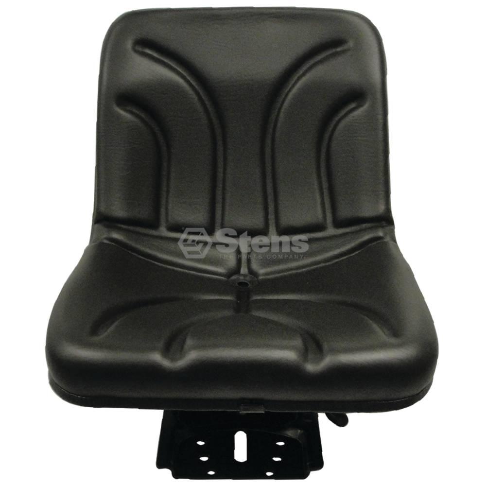 Seat Compact Suspension, Black Vinyl, Adjustable / 3010-0032