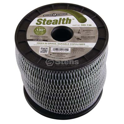 "Stealth Trimmer Line .130"", 3 lb. Spool / 380-136"