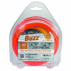 "Buzz Trimmer Line .095"", 1/2 lb. Donut / 380-212"