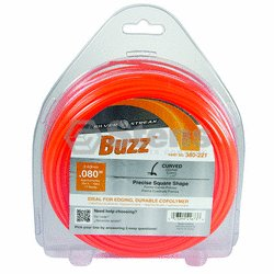 "Buzz Trimmer Line .080"", 1 lb. Donut / 380-221"