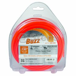 "Buzz Trimmer Line .130"", 1 lb. Donut / 380-225"