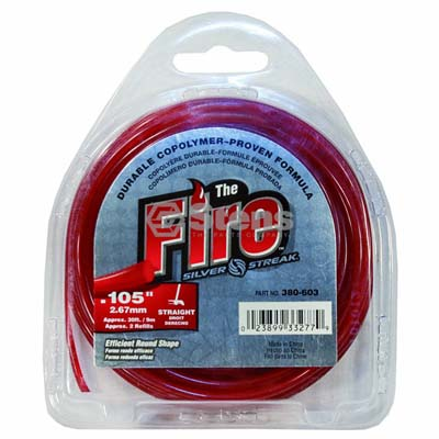 "Fire Trimmer Line .105"", 30' Clam Shell / 380-603"