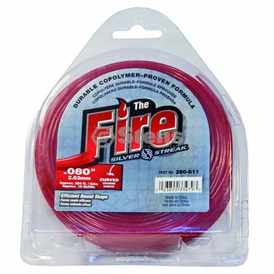 "Fire Trimmer Line .080"", 1/2 lb. Donut / 380-611"
