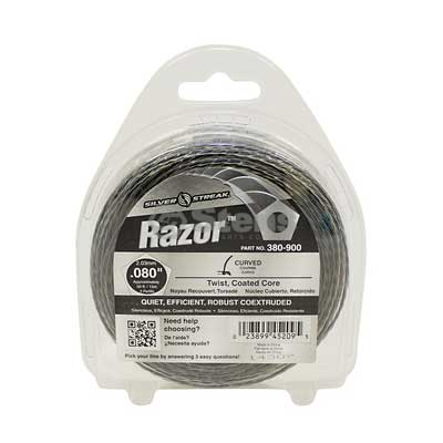 "Razor Trimmer Line .080"", 50', Clam Shell / 380-900"
