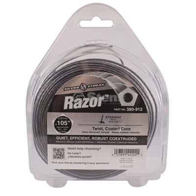 "Razor Trimmer Line .105"", 1/2 lb. Donut / 380-912"