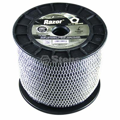 "Razor Trimmer Line .080"", 5 lb. Spool / 380-942"