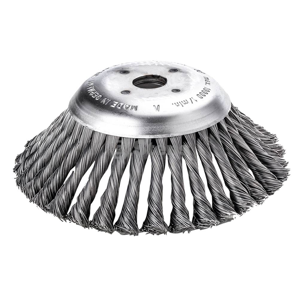 Wire Weed Brush 190 x .5 x 20 mm / 385-616
