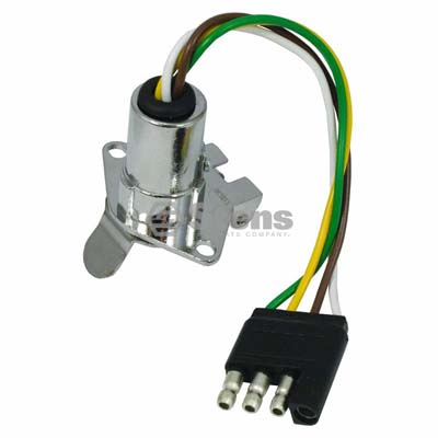 Electric Adapter 4-Way Flat To 5-Way Round / 425-701