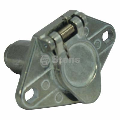 6-Way Truck End Connector Round Pole / 425-741