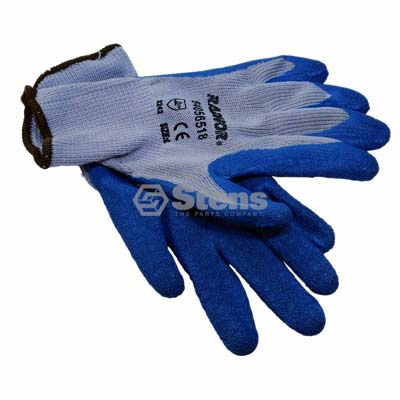 Heavy Duty Glove, Large Rubber Palm Coated String Knit / 751-025