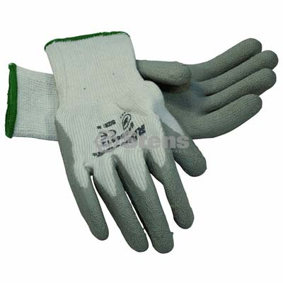 Gray Thermal Glove Latex Palm Coated, Medium / 751-140