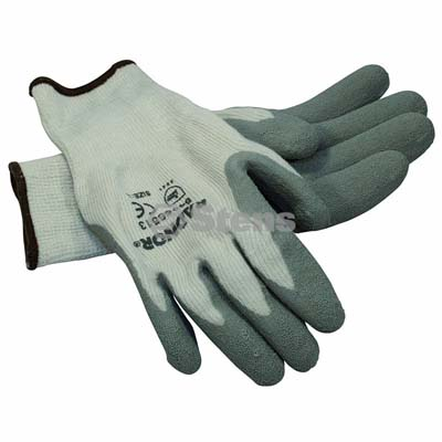 Gray Thermal Glove Latex Palm Coated, Large / 751-141