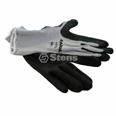 Coated Work Glove Gray String Knit, x Large / 751-153