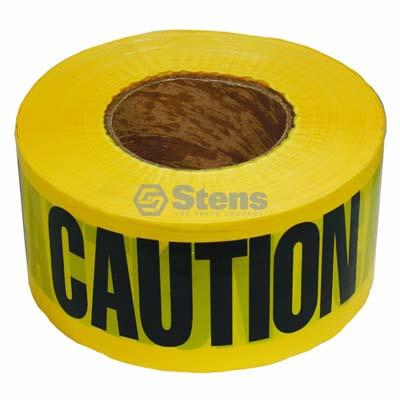 Barricade Caution Tape 2 MIL. Black Yellow / 751-527