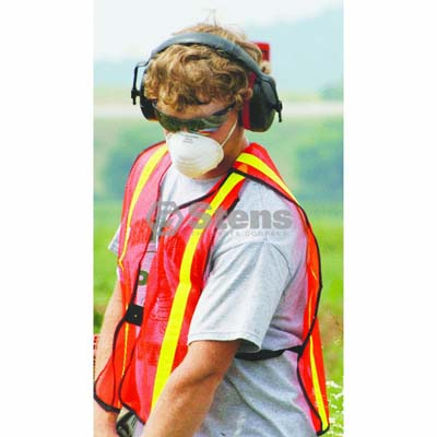 Safety Vest Vertical Stripe / 751-757