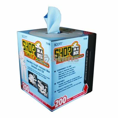 Shop Towels 200 Count Box / 752-418