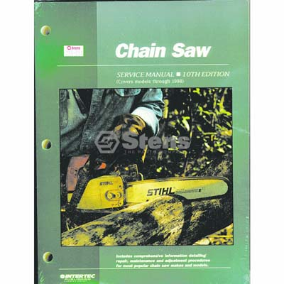 Service Manual for Chain Saws / 755-017
