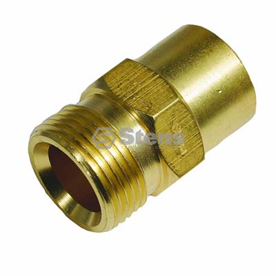 "Fixed Coupler Plug 7.8 Gpm, 3650 PSI, 3/8"" F. Inlet for GP D10024 / 758-287"