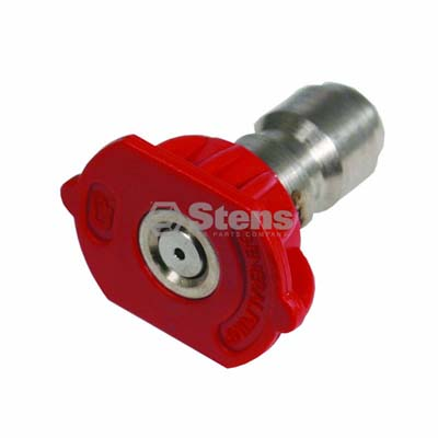 Quick Coupler Nozzle 0 Degree, Size 4.5, Red / 758-307