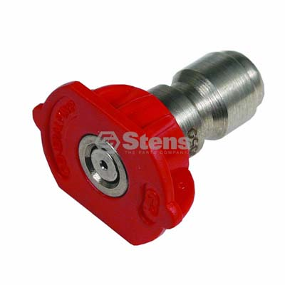 Quick Coupler Nozzle 0 Degree, Size 5.0, Red / 758-311