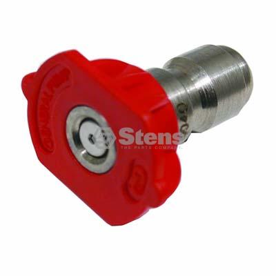 Quick Coupler Nozzle 0 Degree, Size 4.0, Red / 758-315