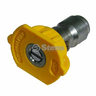 Quick Coupler Nozzle 15 Degree, Size 4.0, Yellow / 758-319