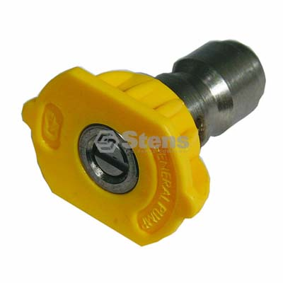 Quick Coupler Nozzle 15 Degree, Size 4.5, Yellow / 758-323
