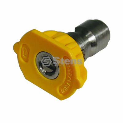 Quick Coupler Nozzle 15 Degree, Size 5.0, Yellow / 758-327
