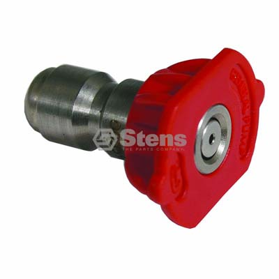Quick Coupler Nozzle 0 Degree, Size 5.5, Red / 758-330