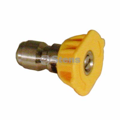 Quick Coupler Nozzle 15 Degree, Size 5.5, Yellow / 758-331