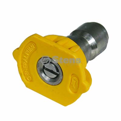 Quick Coupler Nozzle 15 Degree, Size 3.5, Yellow / 758-411