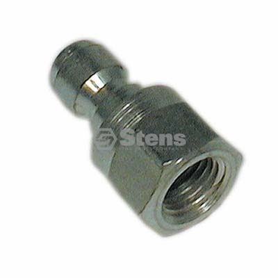 "1/4"" Female Quick Coupler Plug 5K PSI, D10006 / 758-583"