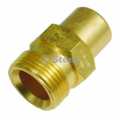 Fixed Twist-Fast Coupler 22 mm x 1.5 M. for GP D10022 / 758-655