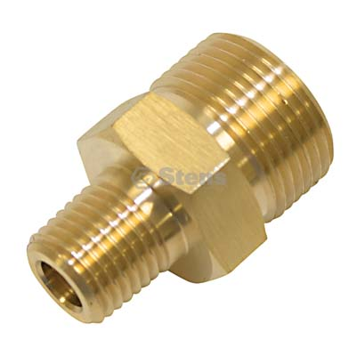 "Coupler Plug 1/4"" M Inlet, 22mmx1.5 M Outlet / 758-918"