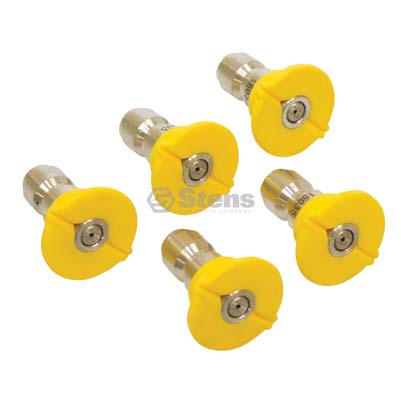 Quick Coupler Nozzle 15 Degree, Size 5.0, Yellow / 758-940
