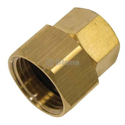 """Garden Hose Adapter 1/2"""" F x 3/4"""" FGH / 758-942"""