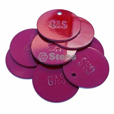Red Gas Tags Trimmertrap FT GT-1 / 765-409 / 10 Pack