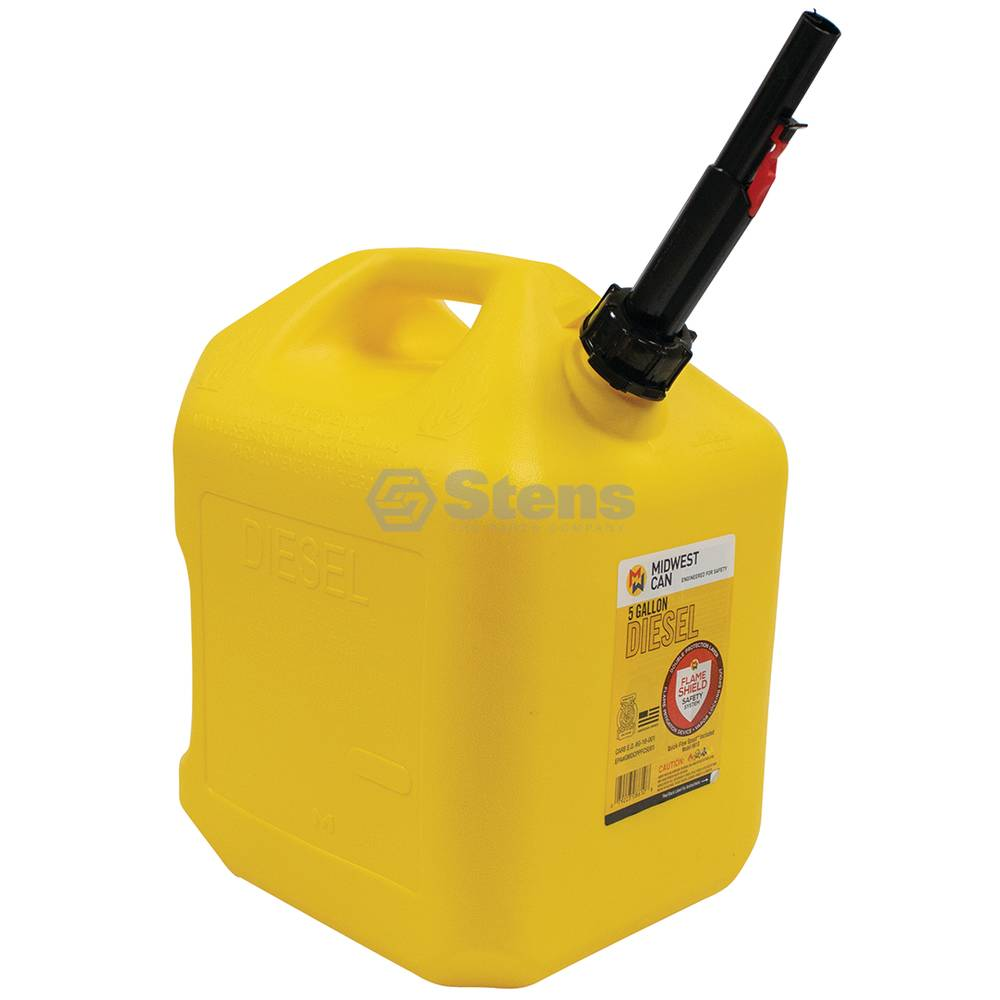 Stens 5 Gallon Plastic Diesel Fuel Can / 765-512